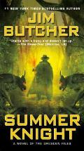 Summer Knight: Book Four of the Dresden Files (Dresden Files #04) Cover