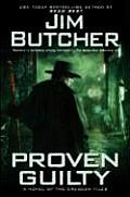 Proven Guilty: Book Eight of the Dresden Files (The Dresden Files #08) Cover