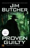 Proven Guilty: A Novel of the Dresden Files (The Dresden Files #08) Cover