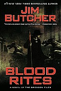 Dresden Files #06: Blood Rites Cover
