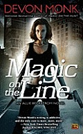 Magic on the Line (Allie Beckstrom Novels) Cover
