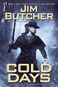 Cold Days: A Novel of the Dresden Files (Dresden Files) Cover