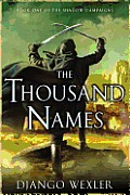 Thousand Names Book One of The Shadow Campaigns