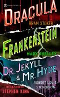 Frankenstein, Dracula, Dr, Jekyll and Mr. Hyde Cover