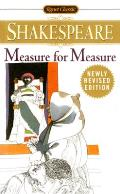 Measure for Measure (Signet Classic Shakespeare) Cover