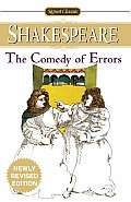 Comedy Of Errors Signet Classic