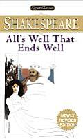 All's Well That Ends Well (Signet Classics) Cover