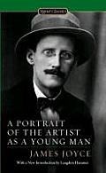 A Portrait of the Artist as a Young Man (Signet Classics) Cover