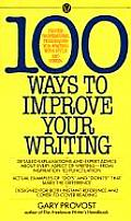 100 Ways To Improve Your Writing (85 Edition)