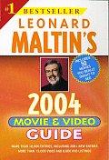 Leonard Maltins Movie & Video Guide 2004