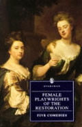 Female Playwrights Of The Restoration