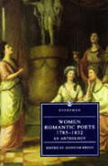 Women Romantic Poets 1785 1832 An Anthology