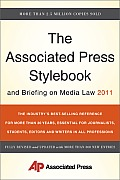 The Associated Press Stylebook and Briefing on Media Law 2011 (Associated Press Stylebook & Briefing on Media Law) Cover
