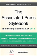 Associated Press Stylebook 2013