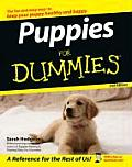 Puppies for Dummies (For Dummies) Cover