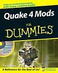 Quake 4 Mods for Dummies with CDROM (For Dummies)