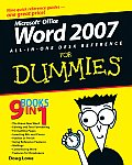 Word 2007 All-In-One Desk Reference for Dummies (For Dummies)
