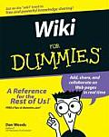 Wikis for Dummies (For Dummies) Cover