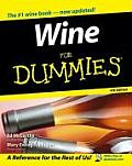 Wine for Dummies (For Dummies) Cover