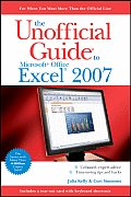 Unoffical Guide To Microsoft Office Excel 2007 (07 Edition)