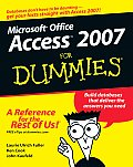 Access 2007 for Dummies (For Dummies) Cover