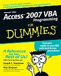 Access 2007 VBA Programming for Dummies (For Dummies)