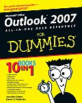 Outlook 2007 All-In-One Desk Reference for Dummies (For Dummies)
