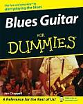Blues Guitar for Dummies with CDROM (For Dummies)