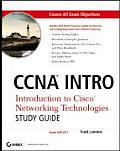 CCNA Intro: Introduction to Cisco Networking Technologies: Exam 640-821 with CDROM