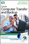 Simple Computer Transfer and Backup: Don't Lose Your Music and Photos with CDROM Cover