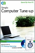 Simple Computer Tune-Up: Spped Up Your PC with CDROM Cover