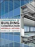 Fundamentals of Building Construction: Materials and Methods (5TH 09 - Old Edition)