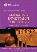Managing Investment Portfolios: A Dynamic Process (Cfa Institute Investment) Cover