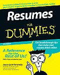 Resumes for Dummies (For Dummies)