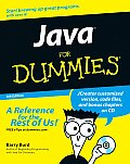Java for Dummies with CDROM (For Dummies)