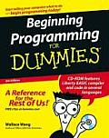 Beginning Programming for Dummies with CDROM (For Dummies)