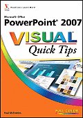 Microsoft Office PowerPoint 2007 Visual Quick Tips