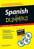 Spanish for Dummies Audio Set with Reference Book