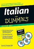 Italian for Dummies Audio Set With Italian for Dummies Reference Book