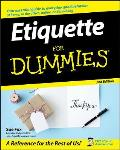 Etiquette For Dummies 2nd Edition