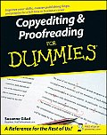 Copyediting and Proofreading for Dummies (07 Edition)