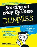 Starting An Ebay Business For Dummies 3rd Edition