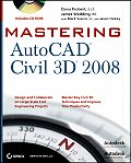 Mastering AutoCAD Civil 3D with CDROM (Mastering) Cover