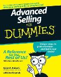 Advanced Selling for Dummies (For Dummies) Cover