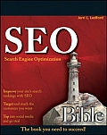 Seo Search Engine Optimization Bible 1st Edition