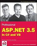 Professional ASP.NET 3.5 In C# & VB