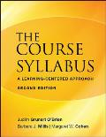 Course Syllabus A Learning Centered Approach