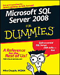 Microsoft SQL Server 2008 for Dummies (For Dummies) Cover