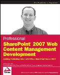 Professional SharePoint 2007 Web...