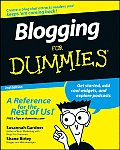 Blogging For Dummies 2nd Edition